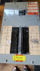 100 amp breaker panel