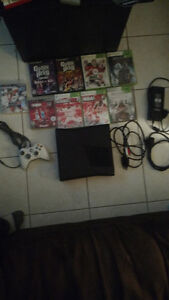Xbox 360 and games.