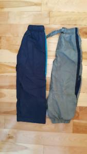 Size 4T lined splash pants