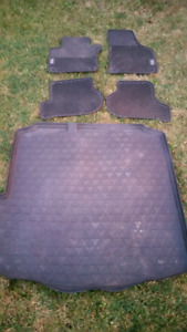 VW Jetta Monster mat's rubber