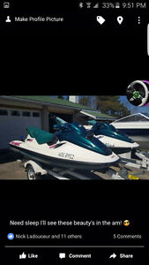 2 seafood 800cc with trailer