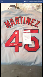 Boston Red Sox Pedro Martinez Autographed Jersey