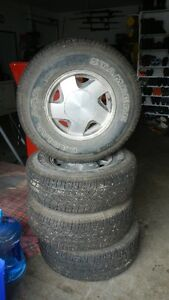 16 inch tires on rims for sale.