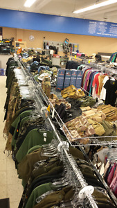 Army/paintball merchandise