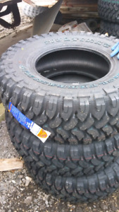NEW LT35X12.5R15 GINELL MUD TERRAIN TIRES
