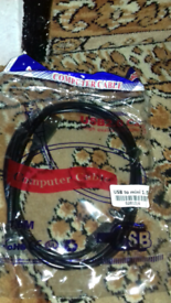 Ps3 charging cable high quality led new