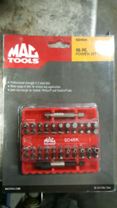 46 pc bits driver mac tools