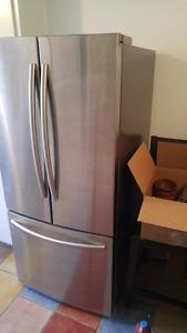 Réfrigérateur Samsung acier inox