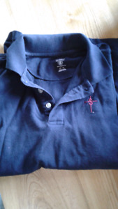 Mens adult small St Theresa's polo