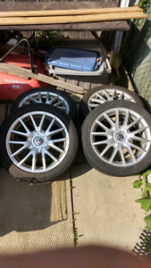 225/45R17 tires and rims Volkswagen