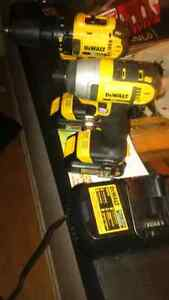 Dewalt drill driver and Impact combo kit