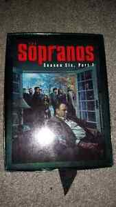 The Sopranos season 6 part 1 only $5 great condition...........