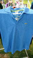 Men's polo golf shirts new & gently used roots izod chaps rl