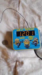 minion alarm clock