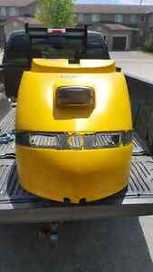 SKI-DOO COWL !! 24 CANS OF BUD LIGHT IT'S YOURS!!!