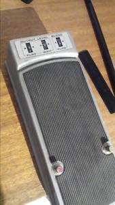Vintage Fender fuzz wah