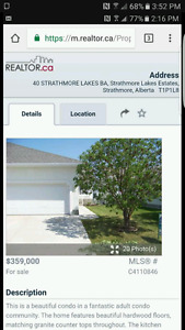REDUCED!! Adult Condo Living At its Best in Strathmore