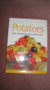 Potatoes Cook Book - Hard Cover - New