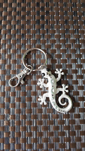 Lizard key chain