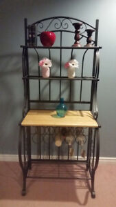 BAKERS STAND/WINE RACK/MICROWAVE STAND