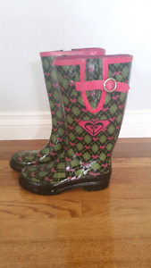 ROXY Rubber Boots Size 6