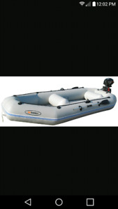 Solstice Quest 12 foot inflatable boat!!