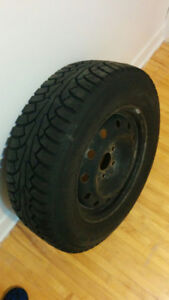 """Set of winter tires with winter rims 16"""""""