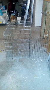 Wire Dog Crate with 1 door for sale.