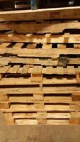 Firewood, project and reusable pallets