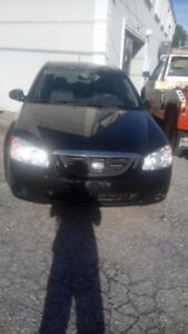 Kia Spectra - Price Negotiable W/ Safety + Emissions or AS-IS