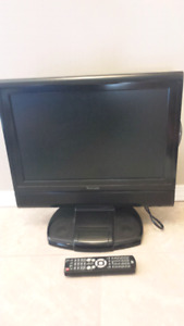 17 inch LCD TV + DVD with docking for Ipod
