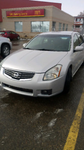 Nissan Maxima 2008 SE with 2way remote starter