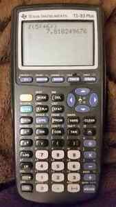 Calculatrice TI-83 Plus calculator