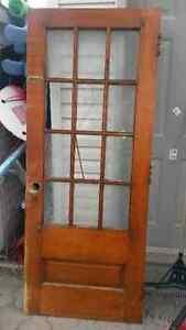 LAST ONE..solid cedar antique doors