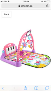 Baby girl fisher price kick & play piano gym