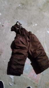 Two snow pants size 2