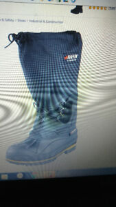 New Mens Winter Baffin Driller green patch boots size8