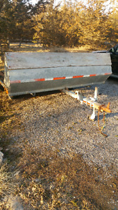 Double snowmobile trailer for sale