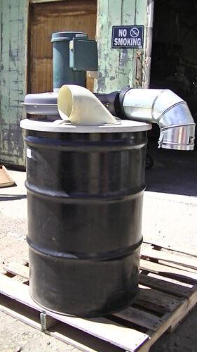 CINCINNATI Fan Dust Master Dust collector 55 gal drum 300S