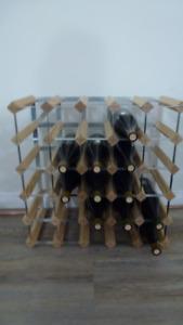 Casier à bouteilles de vin COMME NEUF / Wine rack LIKE NEW
