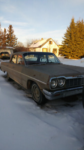 1964 chevy belair rebuilt 194 6 and new clutch