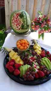 Private and Corporate catering & fruit carving