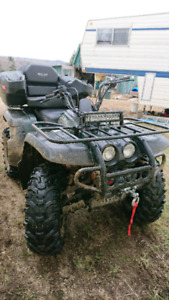 2000 yamaha big bear 400 4x4 with papers