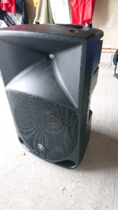Powered Mackie PA or DJ Speakers 1200w 15inch with Custom Covers