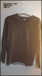 (CLOSET SALE #4) Men male clothing! Cardigans Sweater T Shirts