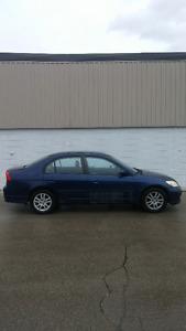 2004 Honda Civic LX-G Sedan, Automatic Safety and Emission