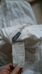 King size bedding, duvet, sheets, mattress cover, feather bed