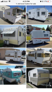 Looking for / Want older travel trailer / retro