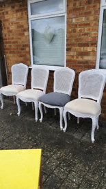 French style shabbychic chairs