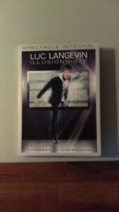 Spectacle dvd intégral Luc Langevin